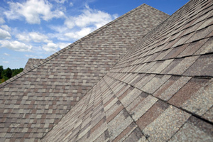 Homes roofed with asphalt shingles in Temperance