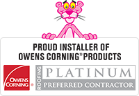 Arnold's Home Improvement is Owens Corning Roofing Platinum Preferred with 50 Year Warranty